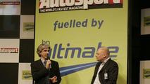Damon Hill at Autosport International