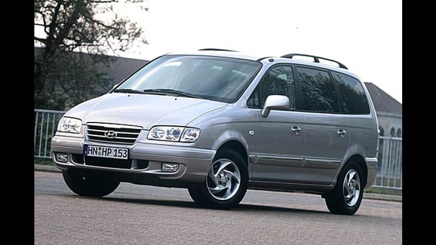 Hyundai Trajet 2.0 GLS: Aufgewertet und besser motorisiert