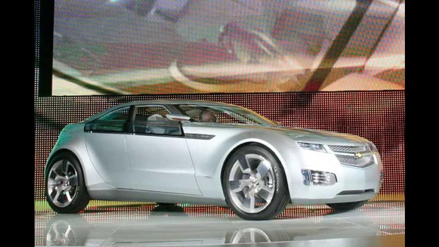 GM stellt Brennstoffzellenantrieb für den Chevrolet Volt vor