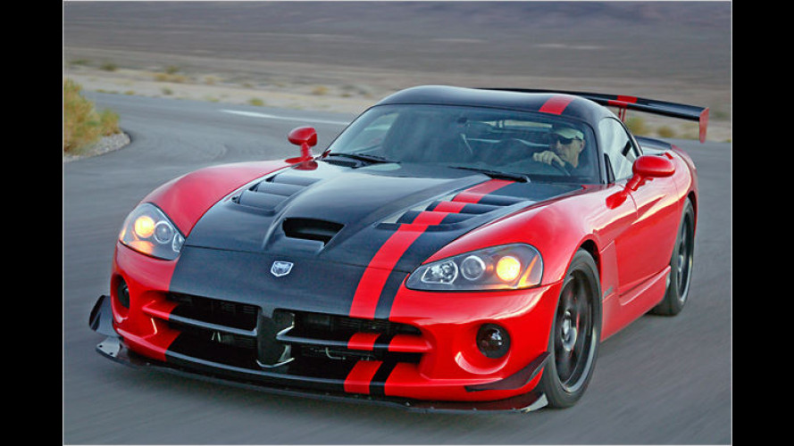 Dodge Viper SRT10 ACR: Abgespeckte Sport-Schlange