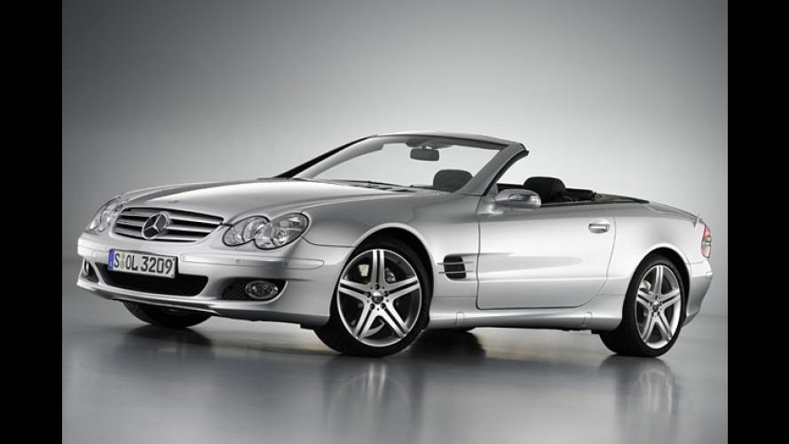 Sportpaket für den Mercedes SL: Spannende Akzente