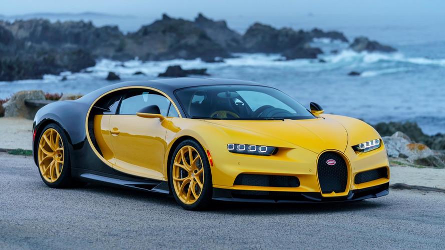 Première Bugatti Chiron livrée aux États-Unis
