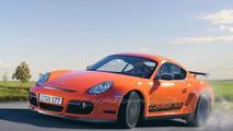 Porsche Cayman RS rendering