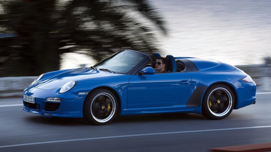 Porsche 911 Speedster To Drop Its Top In Frankfurt?