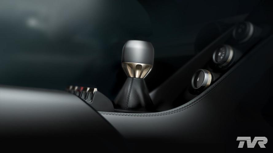 New V8 TVR Teases Its Manual Transmission