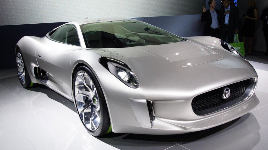 Jaguar C-X75 supercar to produce 500-bhp from 1.6 turbo