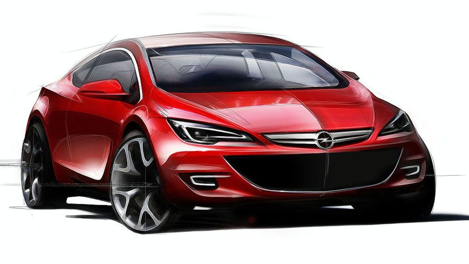 opel preparing astra sport hatch for 2011. Black Bedroom Furniture Sets. Home Design Ideas