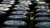 Bridgestone tires, Australian Grand Prix, 25.03.2010 Melbourne, Australia