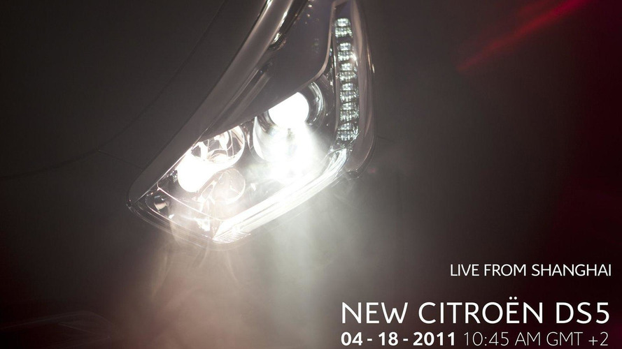 Citroën teases the new DS5 ahead of Shanghai debut