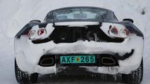 Artega GT winter testing spy photo