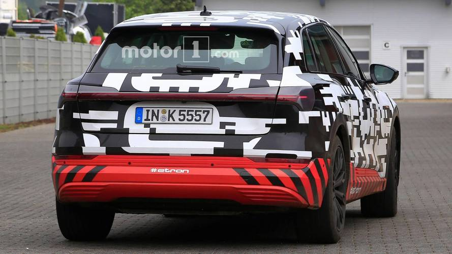 Audi E-Tron spy photo (May 2018)
