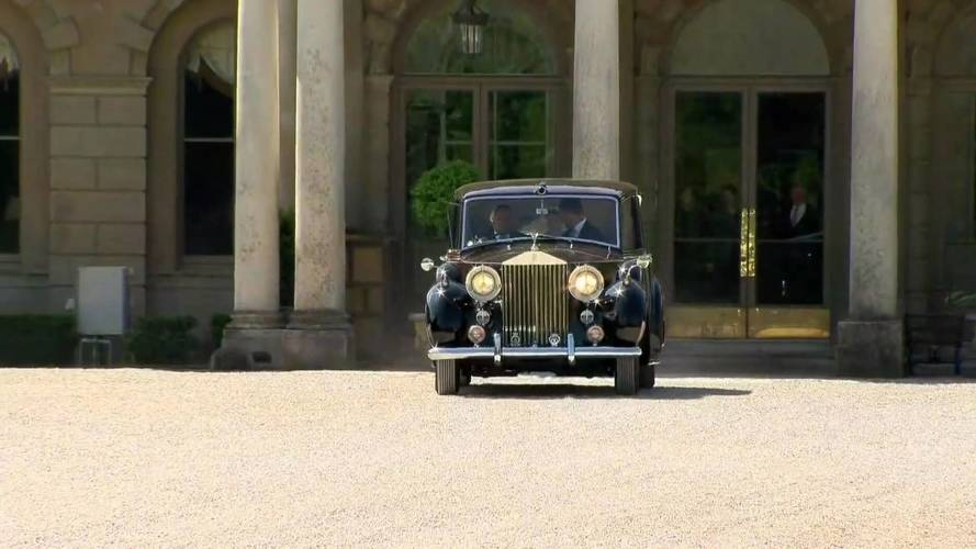 Rolls-Royce Phantom IV no casamento real