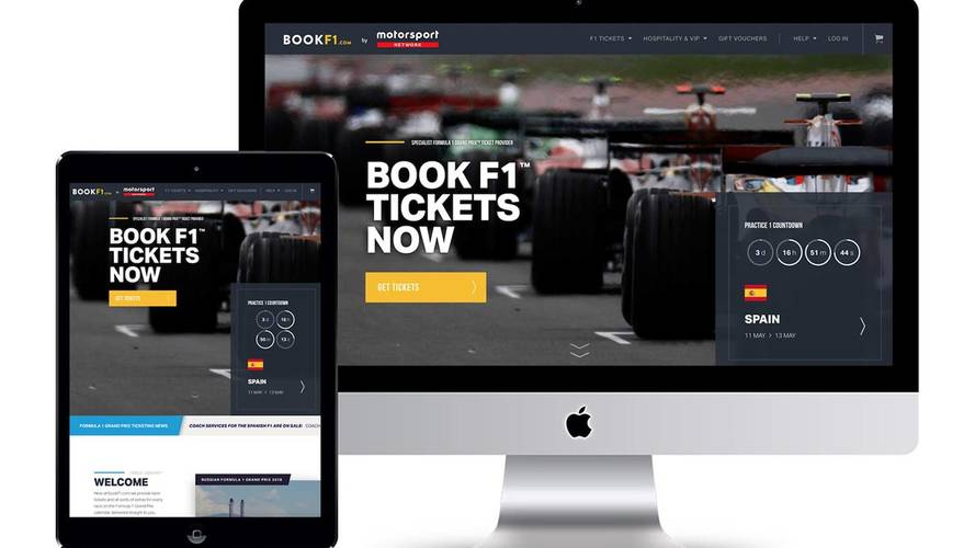 Motorsport Network entra en el mercado global de venta de entradas de automovilismo, con la adquisición de BookF1.com
