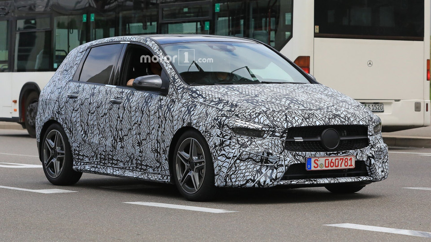 2019 Mercedes B-Class new spy images