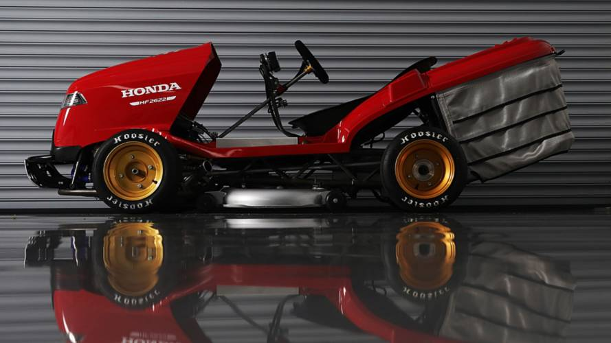 Honda's Mean Mower Is Back For Another Record Attempt