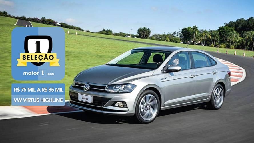 Seleção Motor1.com - VW Virtus Highline vence categoria entre R$ 75 mil e R$ 85 mil