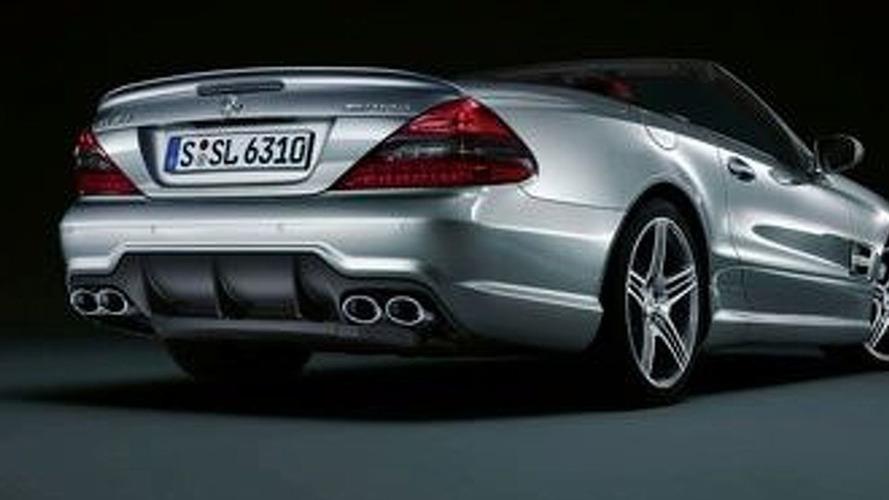 Mercedes Benz Unveils SL Facelift