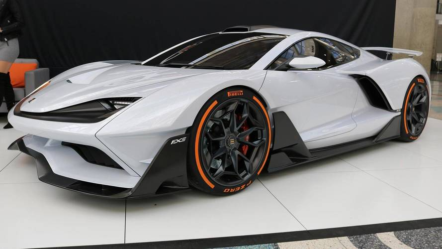 1150 lóerős hibrid sportautó lett az Aria FXE