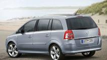 Opel Zafira facelift