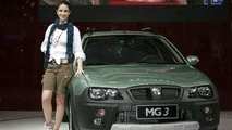 MG3 Crossover launch at Guangzhou Auto