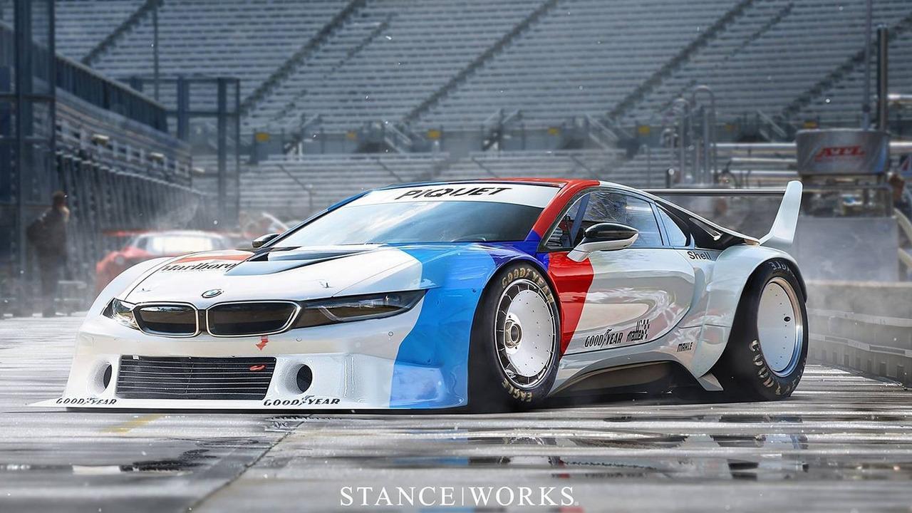 BMW i8 render