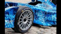 Garage Italia Customs, il wrapping della Formula E