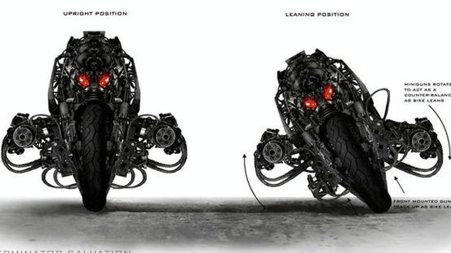 First Clear Images of Moto-Terminator - Set to Star in Terminator 4: Salvation