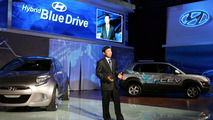 Hyundai Hybrid Blue Drive debut at Los Angeles Auto Show 2008