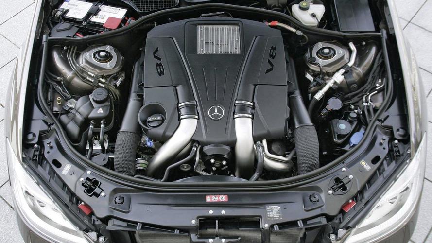 New mercedes engines 4 6 liter v8 biturbo and 3 5 liter for Mercedes benz 3 5 v6 engine