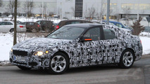 2012 BMW 3-Series hybrid spied for the first time
