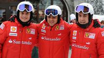 Felipe Massa, Fernando Alonso, Madonna di Campiglio, 12.01.2010