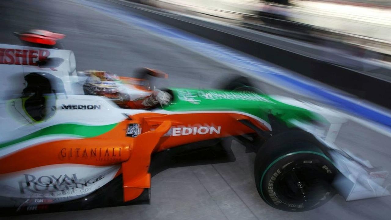 Force India's 2009 F1 Car