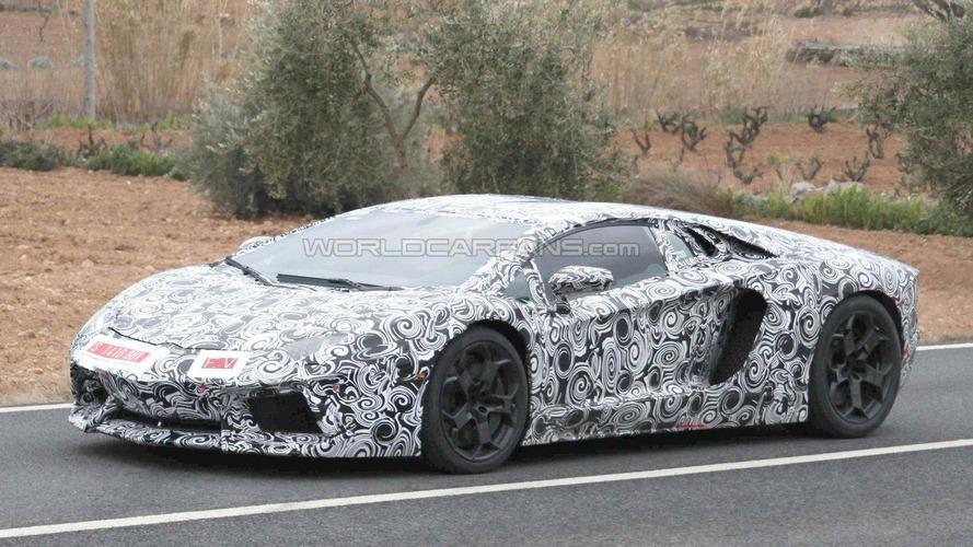 Lamborghini Aventador LP700-4 spied showing more details