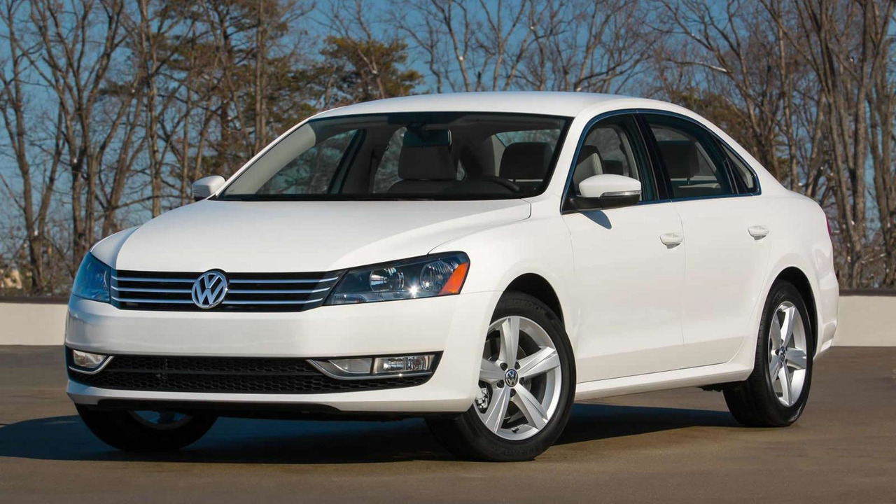 2015 Volkswagen Passat Limited Edition (US-spec)