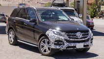 2015 / 2016 Mercedes M-Class spy photo