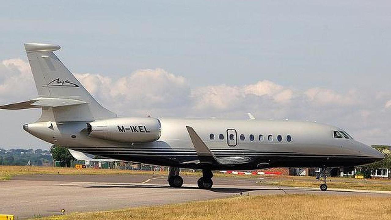 Michael Schumacher private jet / flickr.com