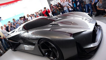 Nissan Concept 2020 Vision Gran Turismo live at Goodwood