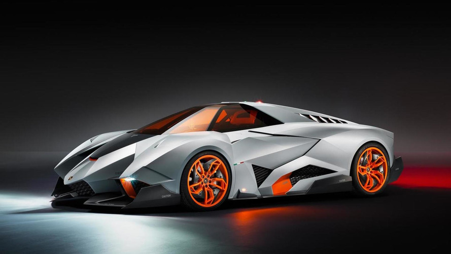 Lamborghini Egoista trademark application could hint at production