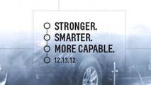2014 Chevrolet Silverado teaser image 11.12.2012