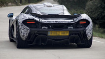 McLaren P1 spied inside & out on video