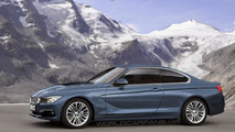 2013 BMW 4-series Coupe artist rendering