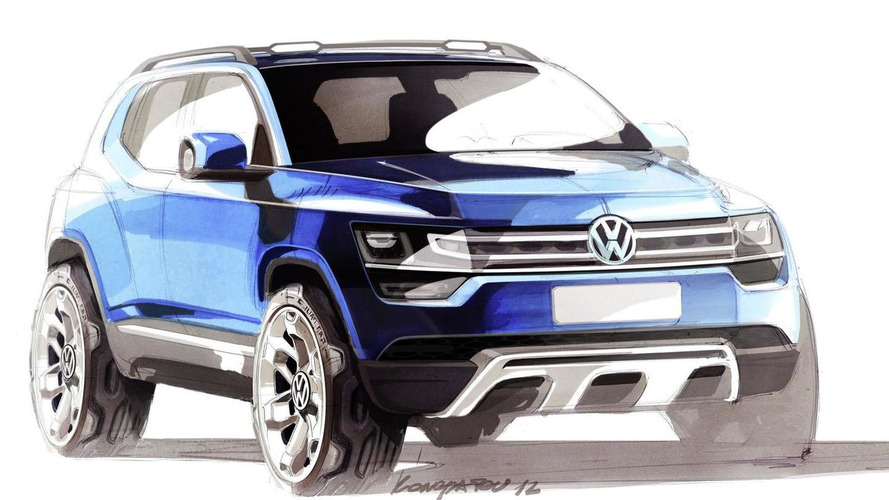 vw taigun up suv resurrected will be called t track. Black Bedroom Furniture Sets. Home Design Ideas