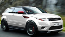 Range Rover Evoque R speculatively rendered