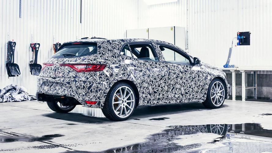 Renault Mégane R.S. 2017: nuevas fotos espía