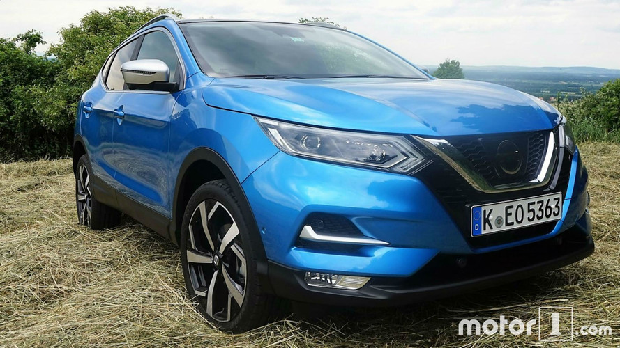 nissan qashqai restyl 2017 photos. Black Bedroom Furniture Sets. Home Design Ideas