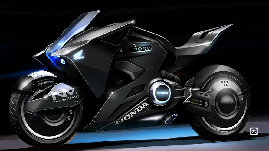 ScarJo rides sick Honda cycle concept in Ghost in the Shell