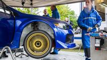 Subaru WRX STI Type RA at the Nurburgring