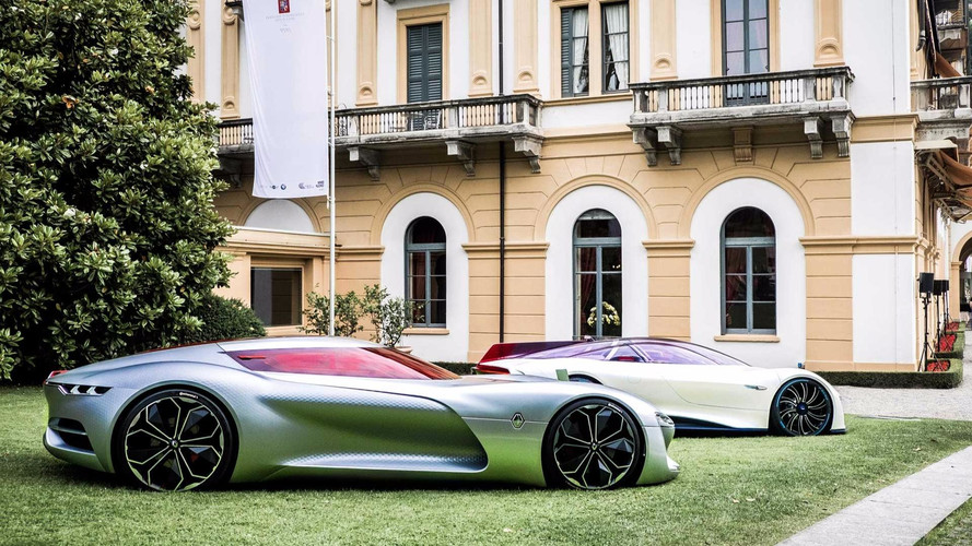 Renault Trezor Voted Most Beautiful Concept In Villa D'este