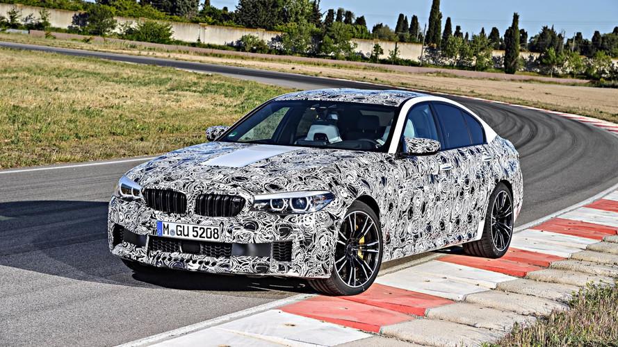 BMW M5'in ağzı sulandıran resmi verileri ortaya çıktı