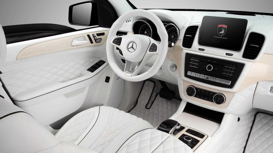 Custom Mercedes GLE Interior Is Like You Died And Went To Heaven